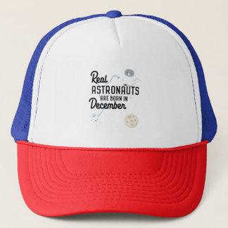 Astronauts are born in December Zcsl0 Trucker Hat
