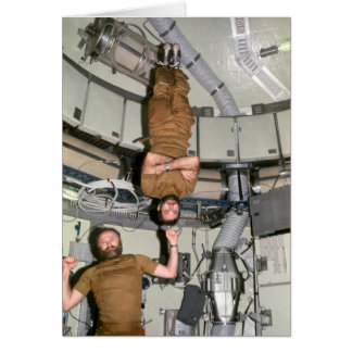 Astronauts Carr & Pogue On Skylab 4 Card