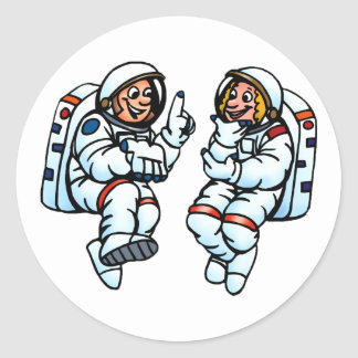 Astronauts Stickers