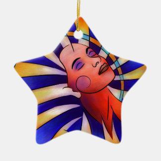 Astronella - beauty star ceramic ornament