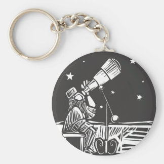 Astronomer Keychain