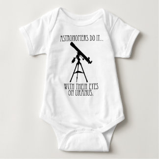 Astronomers Do It... With Their Eyes On Uranus Baby Bodysuit