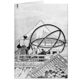 Astronomers working during Edo Period Card