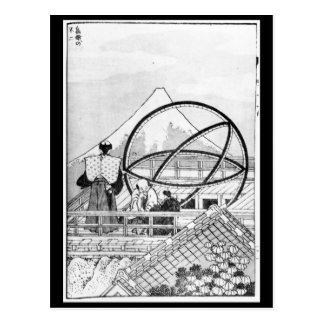 Astronomers working during Edo Period Postcard