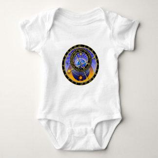 Astronomical Clock Baby Bodysuit