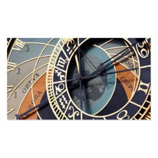 Astronomical Clock Business Card