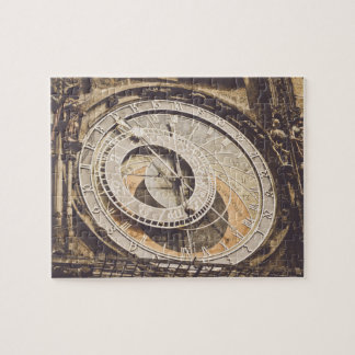 Astronomical Clock in Prague Czech Republic Jigsaw Puzzle