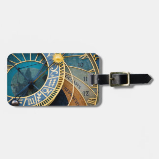 Astronomical Clock in Prague Luggage Tag