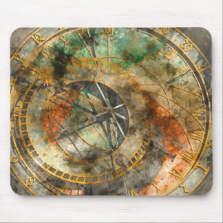 Astronomical clock in Prague Mouse Pad