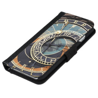Astronomical Clock In Praque iPhone 6 Wallet Case