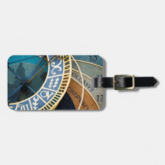 Astronomical Clock Luggage Tag
