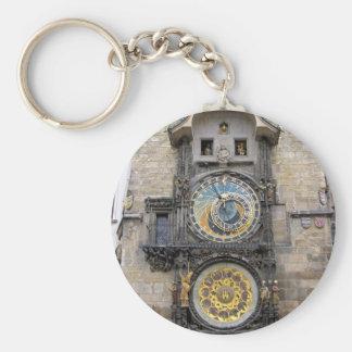Astronomical Clock or Prague Orloj Keychain