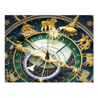 Astronomical Clock Postcard
