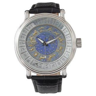 Astronomical clock watch