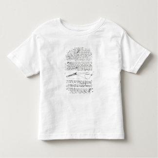 Astronomical diagrams toddler t-shirt