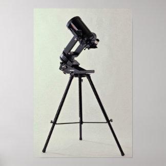 Astronomical lens poster