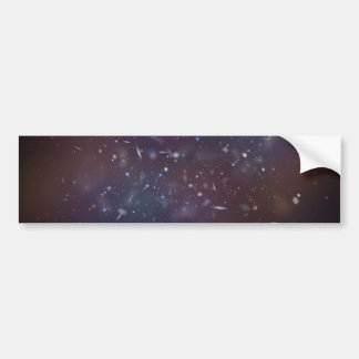 Astronomical scene. bumper sticker