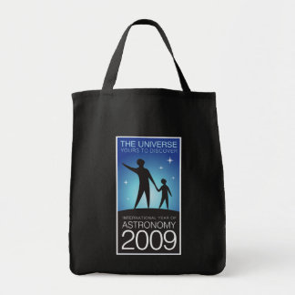 Astronomy 2009 tote bag
