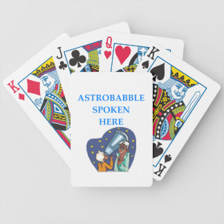 ASTRONOMY BICYCLE PLAYING CARDS