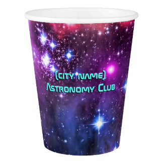 Astronomy Club, Starry Small Magellanic Cloud Paper Cup