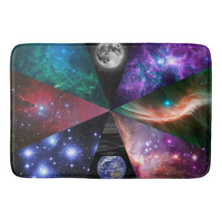 Astronomy Collage Bath Mat