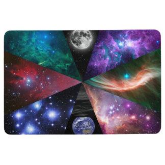 Astronomy Collage Floor Mat