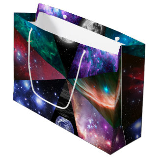 Astronomy Collage Large Gift Bag