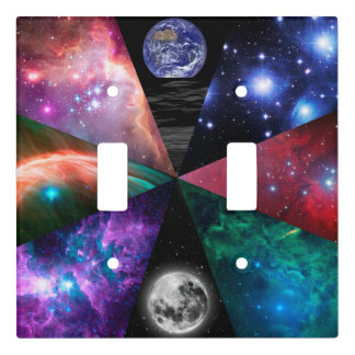 Astronomy Collage Light Switch Cover