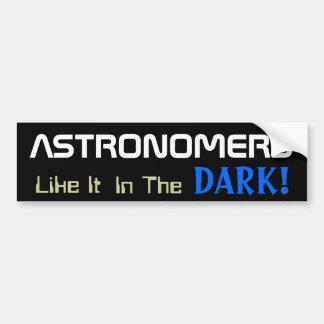 Astronomy Fun Bumper Sticker