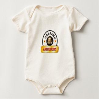 astronomy galileo baby bodysuit