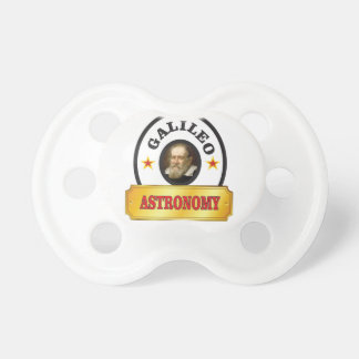 astronomy galileo baby pacifier