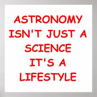astronomy joke poster