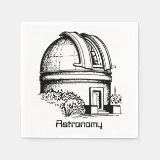 Astronomy Observatory Napkin