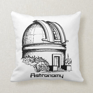 Astronomy Observatory Throw Pillow