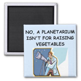 ASTRONOMY planetarium joke Refrigerator Magnets