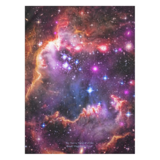 Astronomy, Starry Wingtip, Small Magellanic Cloud Tablecloth