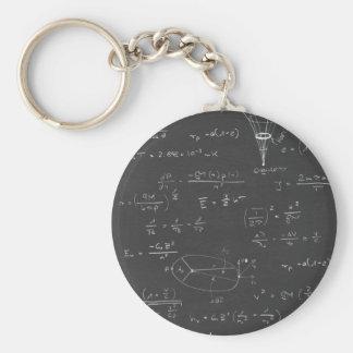 Astrophysics diagrams and formulas keychain