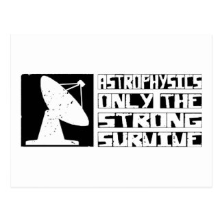 Astrophysics Survive Postcard