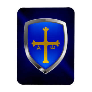 Asturias Metallic Emblem Magnet