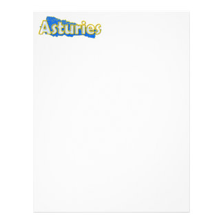 Asturias Personalized Letterhead
