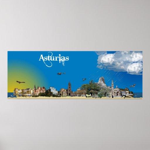 Asturias Poster