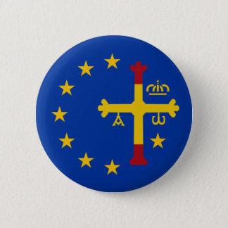 Asturias, Spain, Europe 2 Inch Round Button