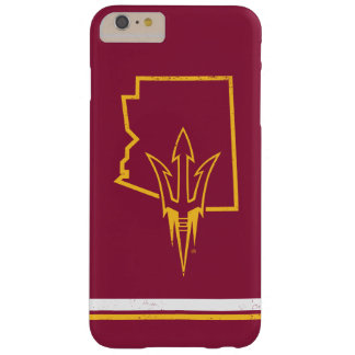 ASU | Classic State Logo Barely There iPhone 6 Plus Case