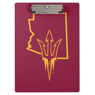 ASU | Classic State Logo Clipboard