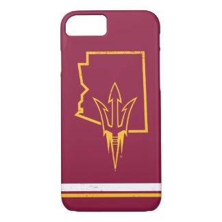 ASU | Classic State Logo iPhone 8/7 Case