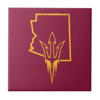 ASU | Classic State Logo Tile
