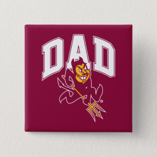 ASU Dad 2 Inch Square Button