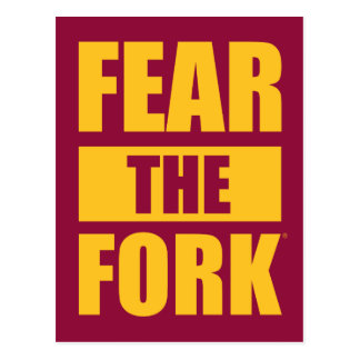 ASU Fear the Fork Postcard