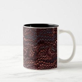 Aswirl Two-Tone Coffee Mug