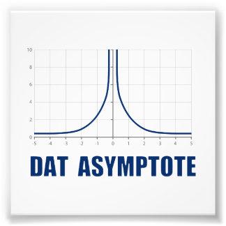 Asymptote de Dat Photo D'art